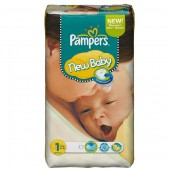 Couches Pampers New Baby Dry taille 1 - 172 couches
