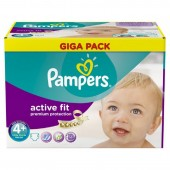 Pack 210 Couches Pampers Active Fit sur tooly