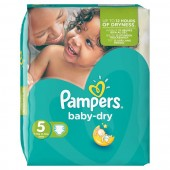 Pack 54 couches Pampers Baby Dry