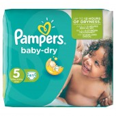 Pack 41 Couches Pampers Baby Dry sur soscouches