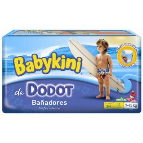 Pack 12 Couches Maillot de bain Dodot Babykini de Starckman