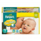 Couches Pampers New Baby Dry taille 1 - 301 couches