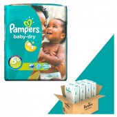 Pack 240 Couches de Pampers Baby Dry sur couchescenter