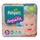 Pack de 123 Couches de Pampers Active Fit sur tooly
