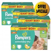 Couches Pampers Active Baby Dry taille 5 - 522 couches