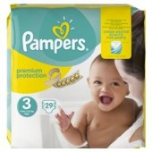 Pack 29 Couches Pampers Premium Protection