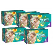 Maxi Giga Pack 304 couches Pampers Baby Dry