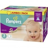 Pack 120 Couches de Pampers Active Fit sur les looloos