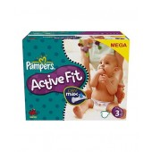 Pack économique de 360 Couches de Pampers Active Fit sur choupinet