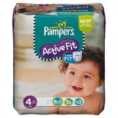 Pack de 54 Couches Pampers Active Fit sur tooly