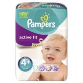 Pack 50 Couches Pampers Active Fit sur 123couches