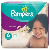 Couches Pampers Active Fit taille 6 - 31 couches