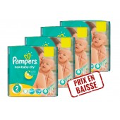 Maxi Giga Pack 272 couches Pampers New Baby Dry