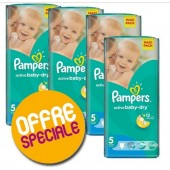 Maxi Giga Pack 504 couches Pampers Active Baby Dry