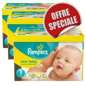 Couches Pampers New Baby Dry taille 1 - 516 couches