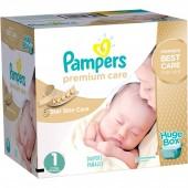Maxi Giga pack 164 Couches de Pampers Premium Care sur layota