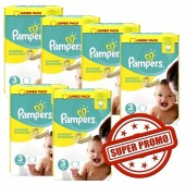 Couches Pampers Premium Protection taille 3 - 400 couches