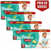 470 Couches Pampers Baby Dry Pants taille 4