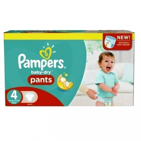 94 Couches Pampers Baby Dry Pants taille 4 de Starckman