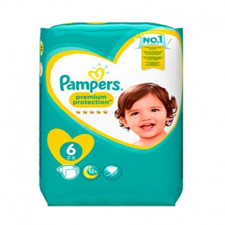 31 Couches Pampers Premium Protection - New Baby taille 6 de Starckman