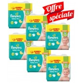 224 Couches Pampers Baby Dry taille 7