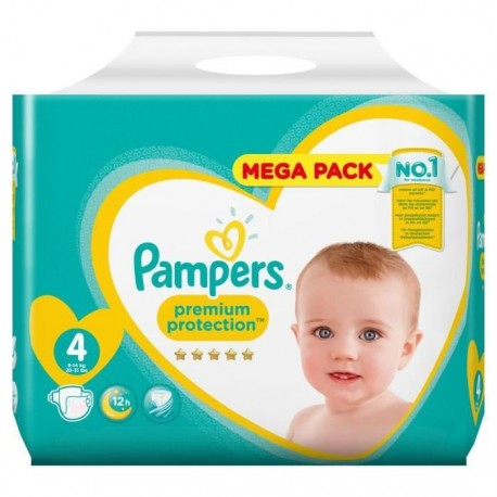39 Couches Pampers New Baby - Premium Protection taille 4 de Starckman
