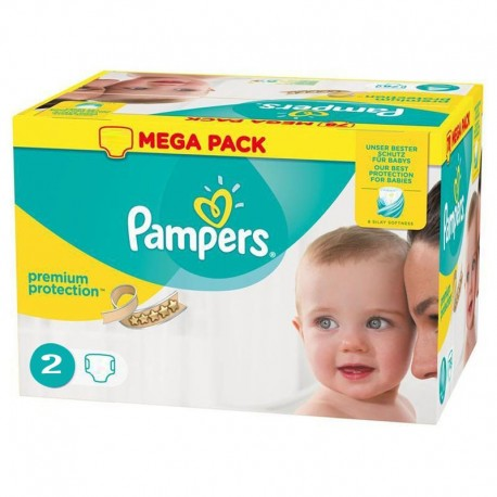 240 Couches Pampers New Baby - Premium Protection taille 2 de Starckman