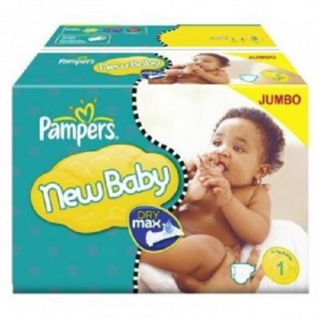 Couches Pampers New Baby taille 1 - 280 couches de Starckman